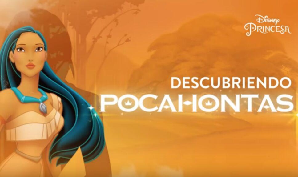 Princesas Pocahontas y La Cenicienta