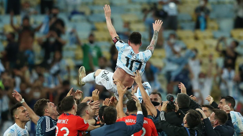 Lionel Messi de Barcelona a París