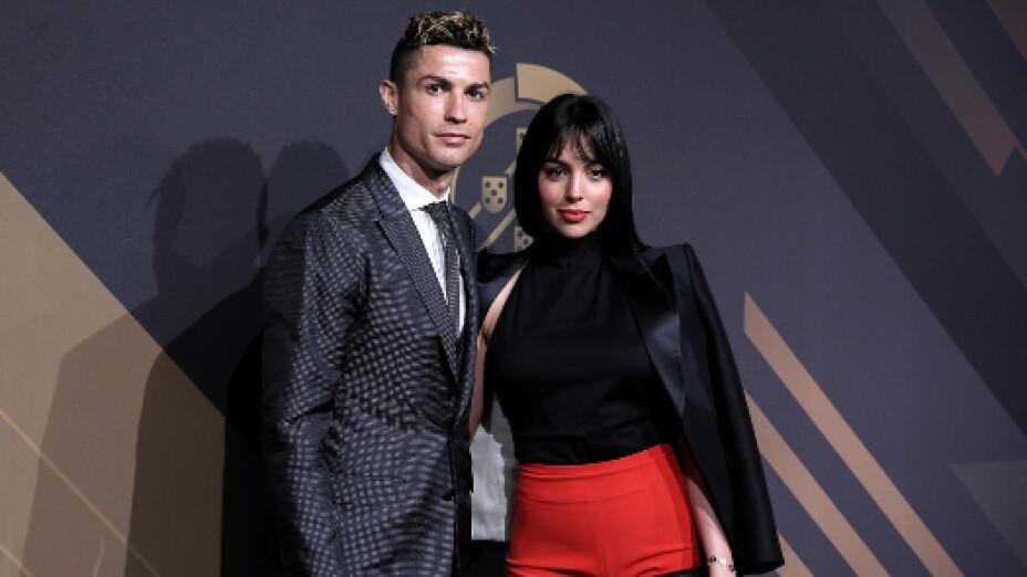 Cristiano Ronaldo y Georgina Rodríguez covid-19