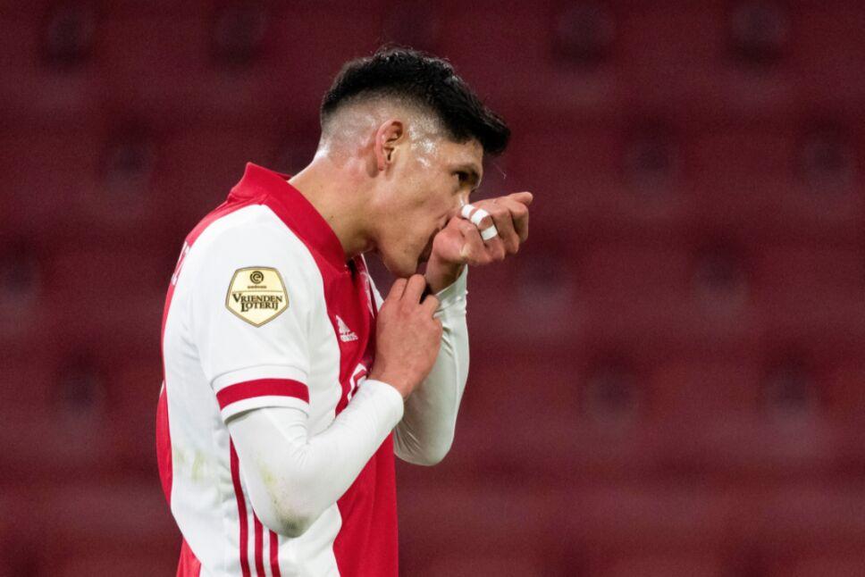 Edson Álvarez Ajax defensa