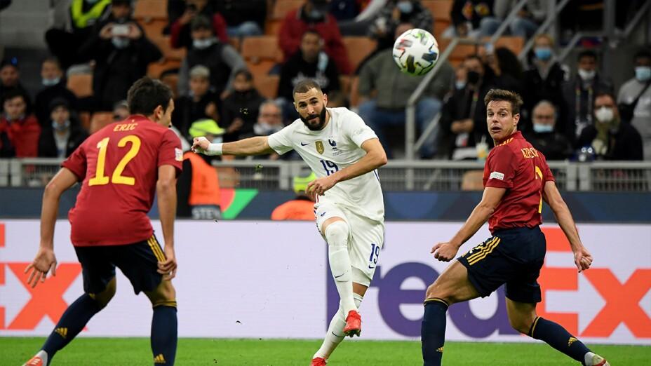 Benzema ante España