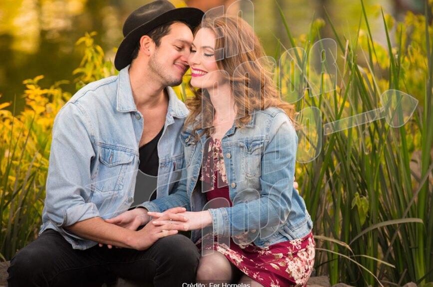 Carlos y Elise se conocieron en Enamorándonos.