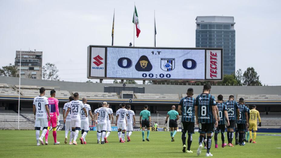 Galería: Pumas vs Querétaro