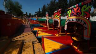 Sin clientes las trajineras y negocios en Xochimilco