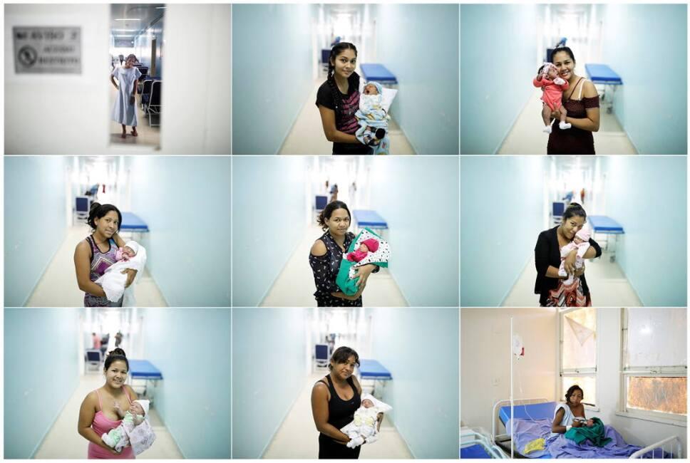 mujeres embarazadas venezuela