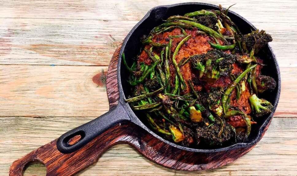 Receta Carne con brócoli cachanilla Cocineros Mexicanos