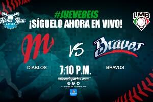 Diablos Rojos del México vs Bravos de León