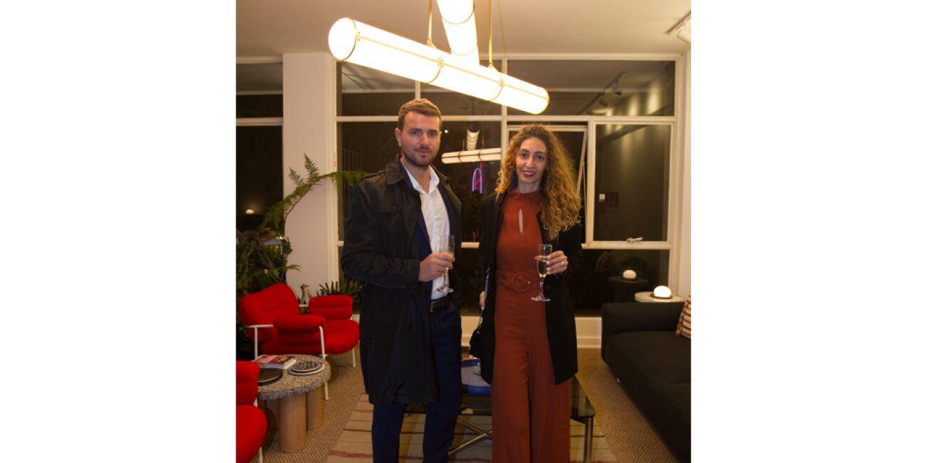 Valerio Tadoe y Valeria Giacomozi