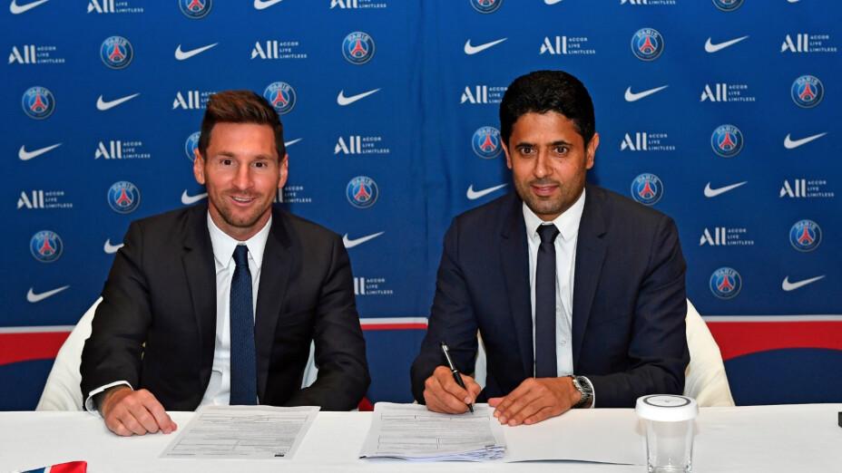 Lionel Messi contrato PSG