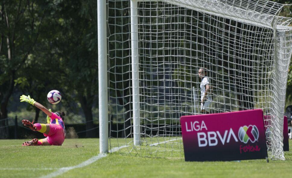 Gol de América Femenil vs Pumas Femenil