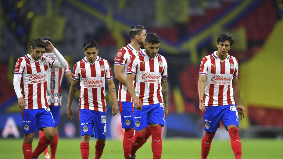 Alexis Peña, Chofis López, Dieter Villalpando y 'Gallito' Vázquez salen de Chivas