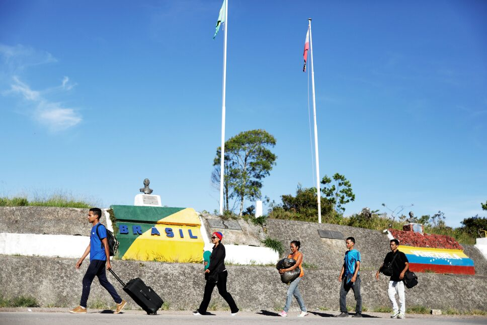 frontera brasil con venezuela