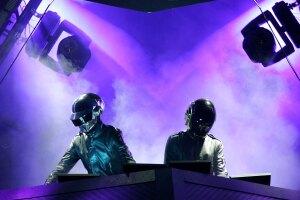 Daft Punk sin casco