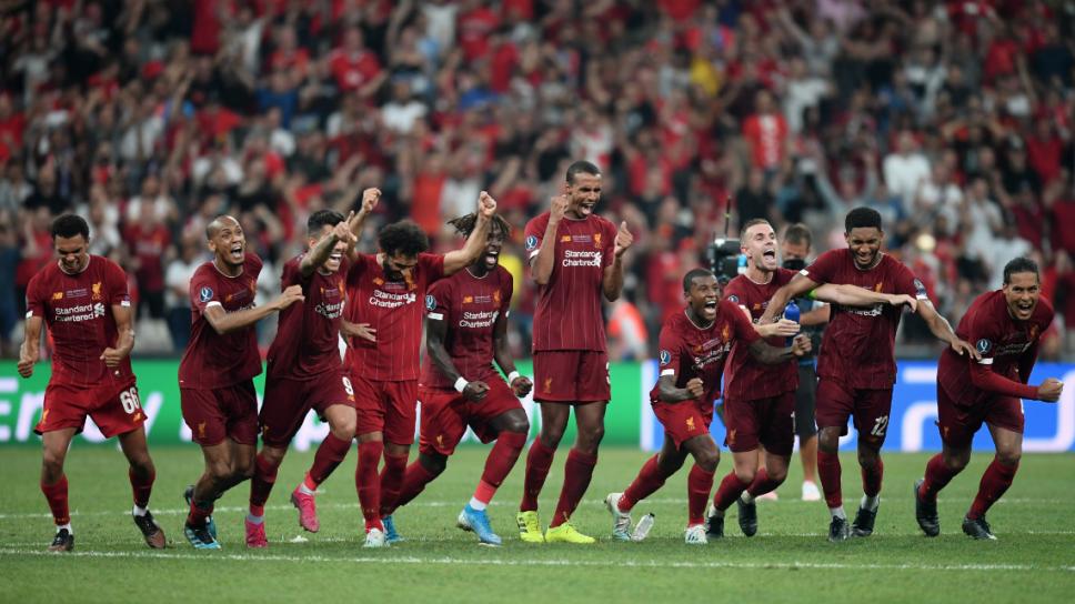 Liverpool levanta la Supercopa de Europa