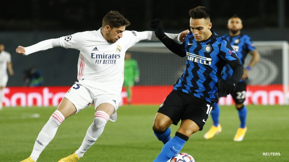 Federico Valverde ante el Inter