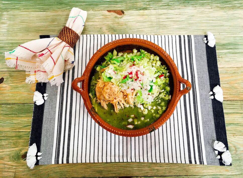 Receta, Pozole verde, Cocineros Mexicanos