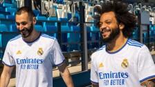 Camiseta del Real Madrid para la temporada 2021-22