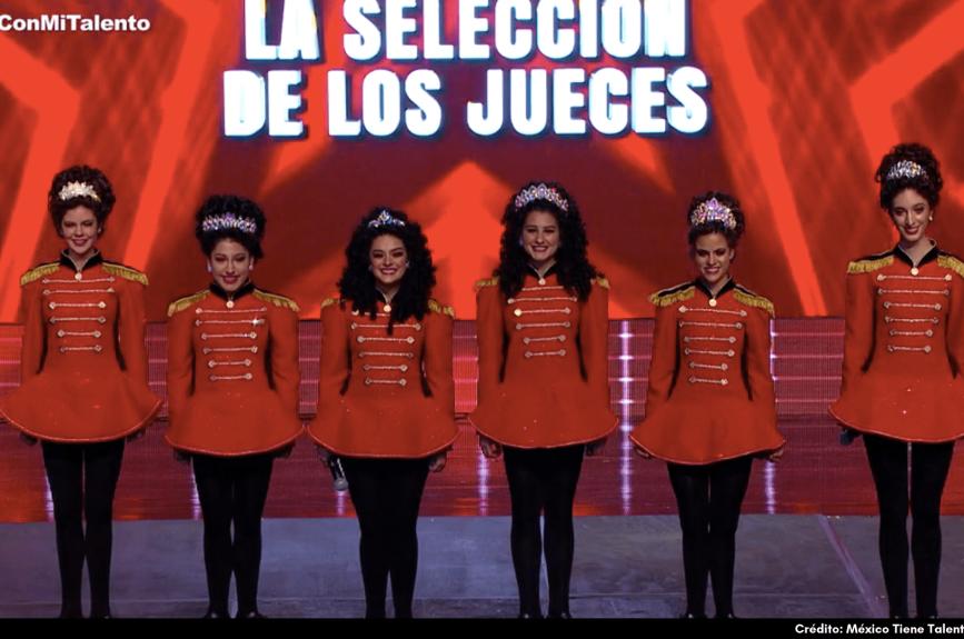 las chicas de ¡Inishfree México se plantaron con mucha presencia en el escenario!