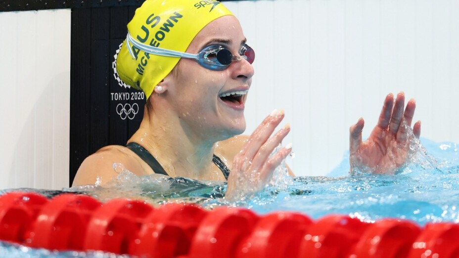 Kaylee McKeown impuso récord olímpico