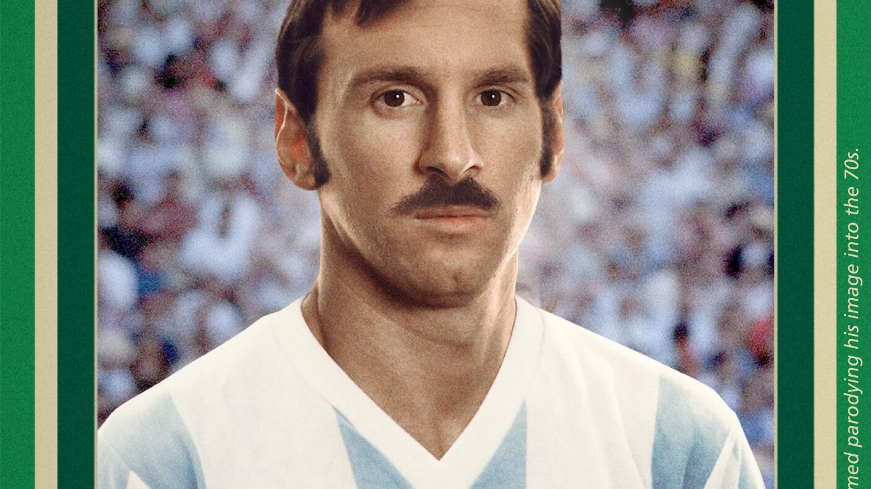 La FIFA presentó como serían las actuales estrellas del balompié mundial en el Mundial de México 70