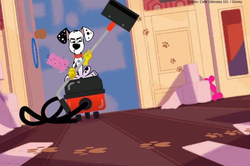 Su historia está inspirada en la película animada de Disney 101 Dálmatas.