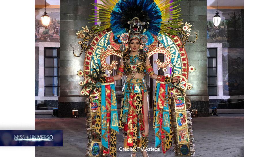 Traje típico de Miss México en Miss Universo 2018