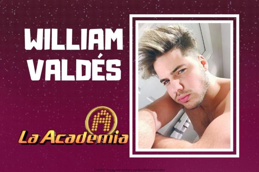 ¡Él es William Valdés nació el 10 de enero de 1994!