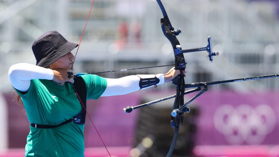 Alejandra Valencia en los Juegos de Tokyo 2020