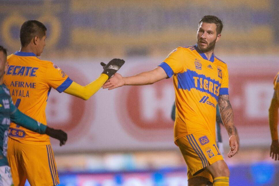 Liga BBVA MX Clausura GUARD1ANES 2021 Tigres UANL vs Leon