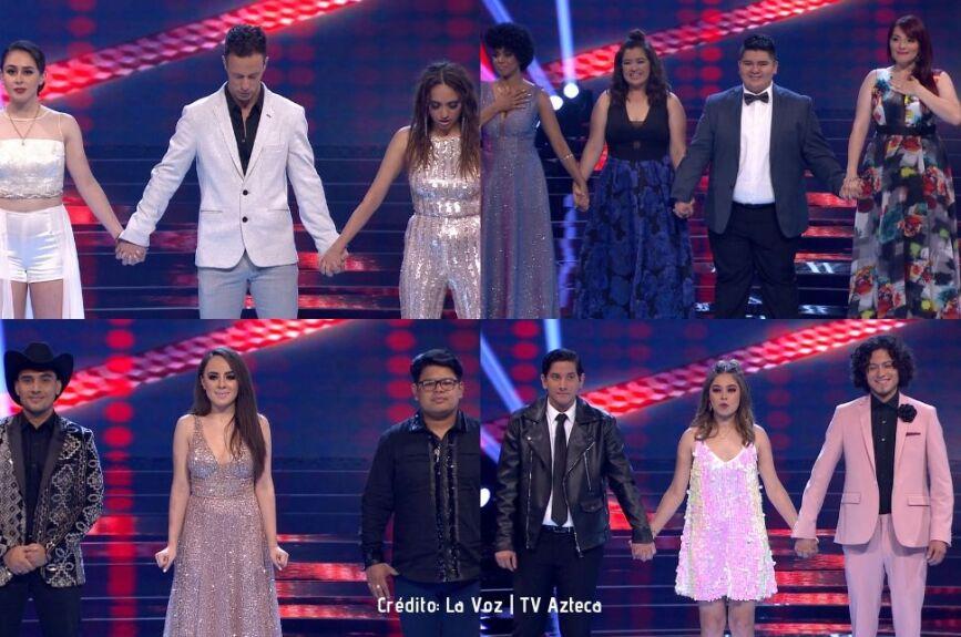 Meli G, Diana, Miguel y Daniela no lograron avanzar a la semifinal.