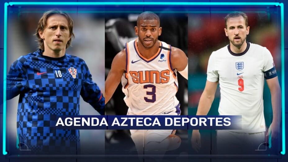Agenda deportiva 21 de junio.