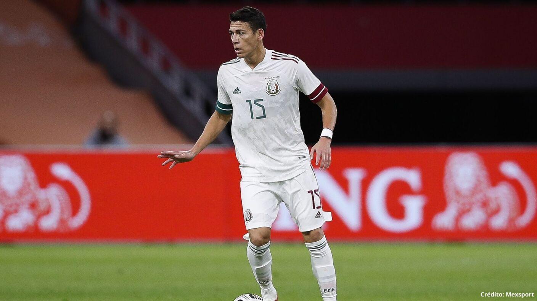19 futbolistas con más partidos en la Selección Mexicana héctor moreno.jpg