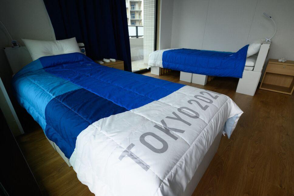 camas de carton tokyo 2020