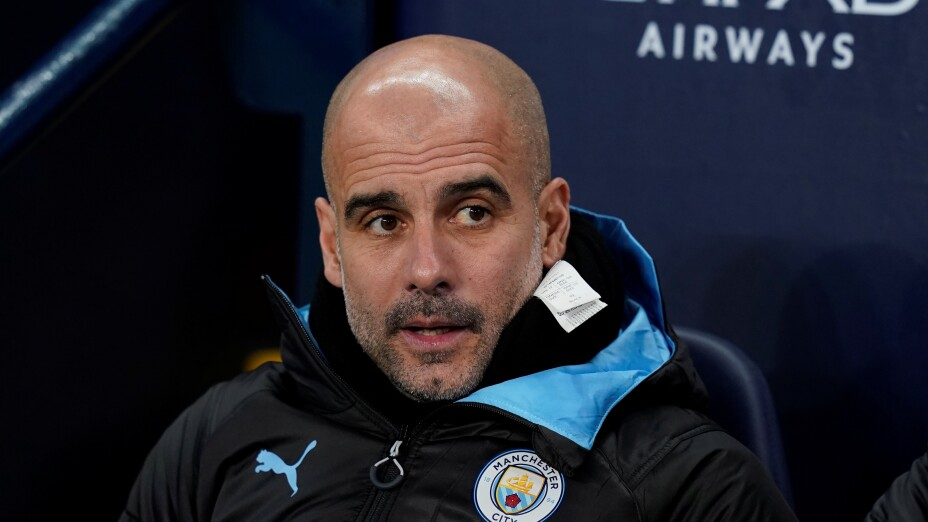 Pep Guardiola Manchester United Real Madrid