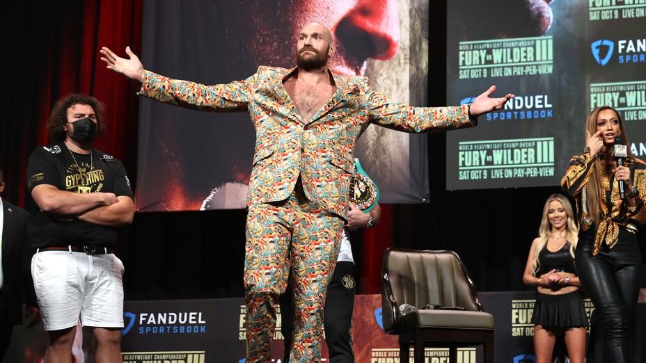 Tyson Fury Deontay Wilder Box Azteca Top Rank