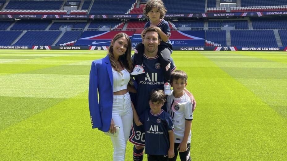Thiago, Mateo y Ciro hijos de Messi..jpeg