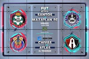 ¡Doble cartelera de FUT Azteca este sábado 2 de octubre!