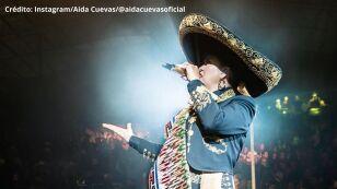 Aida Cuevas cumple 45 años de carrera