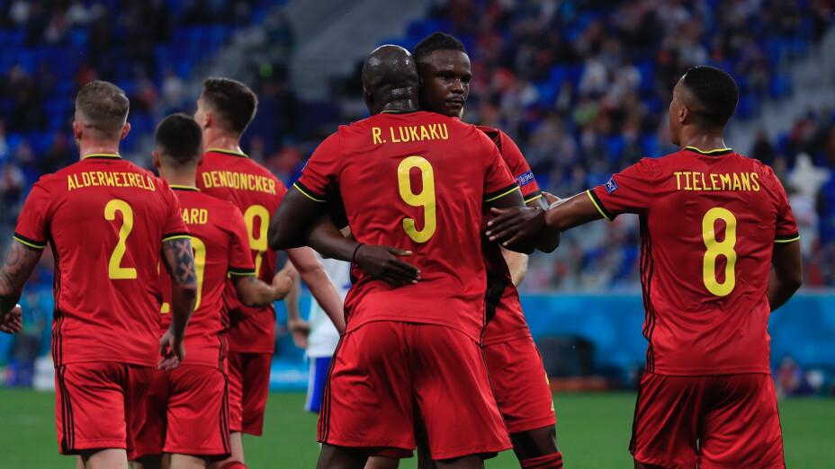 Bélgica derrota a Rusia Eurocopa 2020