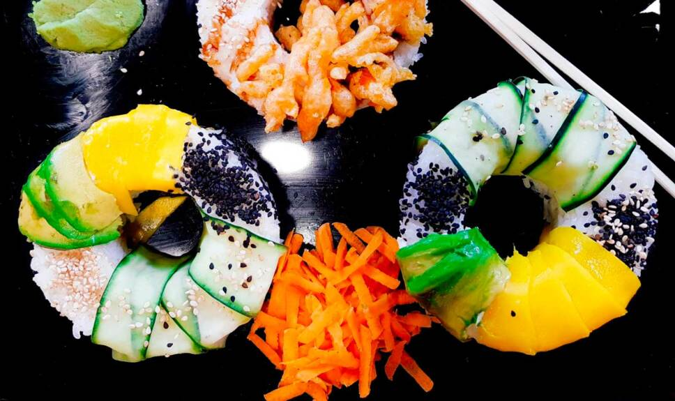 Receta Sushi dona