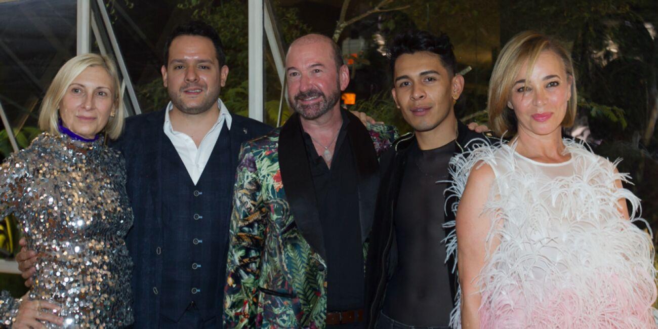 Grimanesca Amoros, Rodrigo Fernández, Doug Garfinkle, Ulises Haban y Fiona Cabani