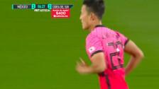 ¡Corea intentó hasta el final, pero no pudo sacar el empate!  México 3-2 Corea del Sur