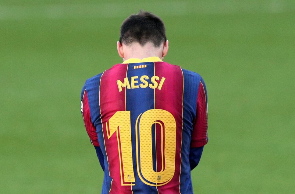 Lionel Messi, vendido del Barcelona