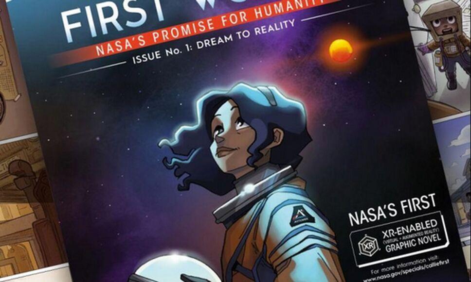 First Woman: El cómic de la NASA sobre la primera latina en pisar la Luna