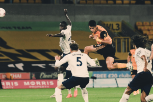 Raúl Jiménez gol Wolves vs Manchester City