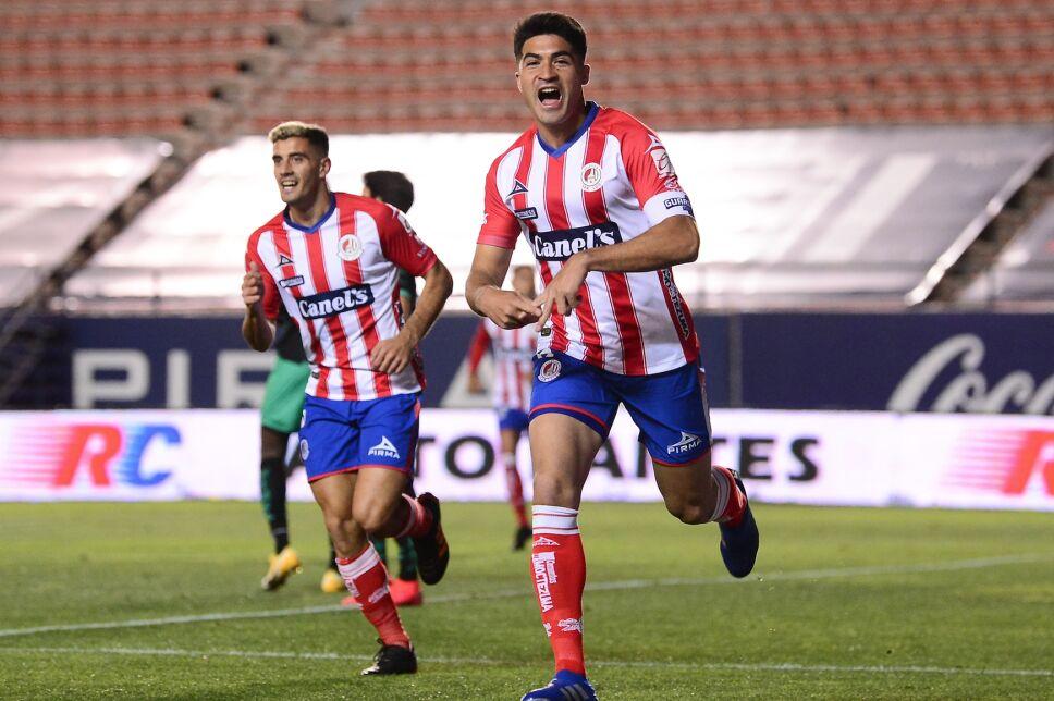 Atlético San Luis derrota a Santos con gol de Nicolás Ibáñez.