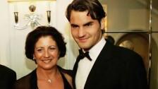 Lynette Federer y Roger Federer