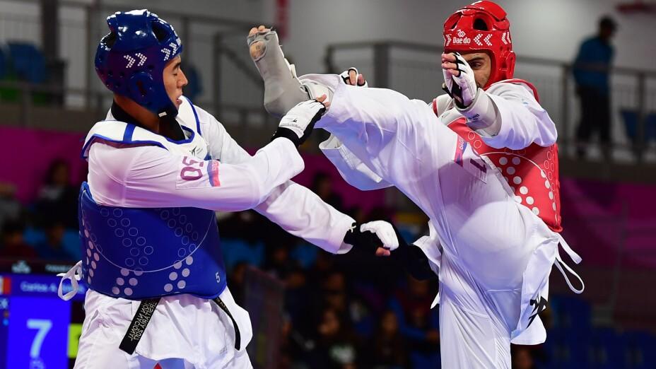 Carlos Sansores en los Juegos Panamericanos de Lima 2019