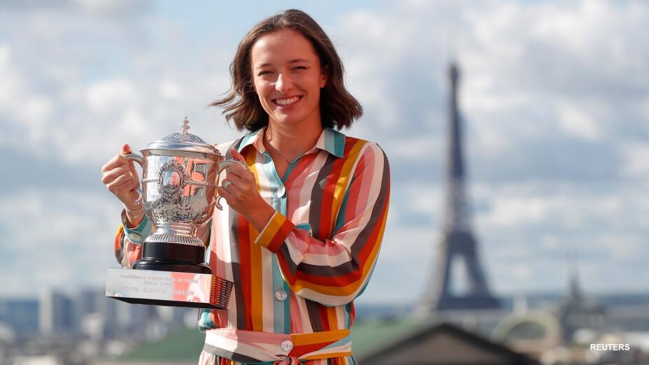Iga Swiatek hace historia en el deporte polaco