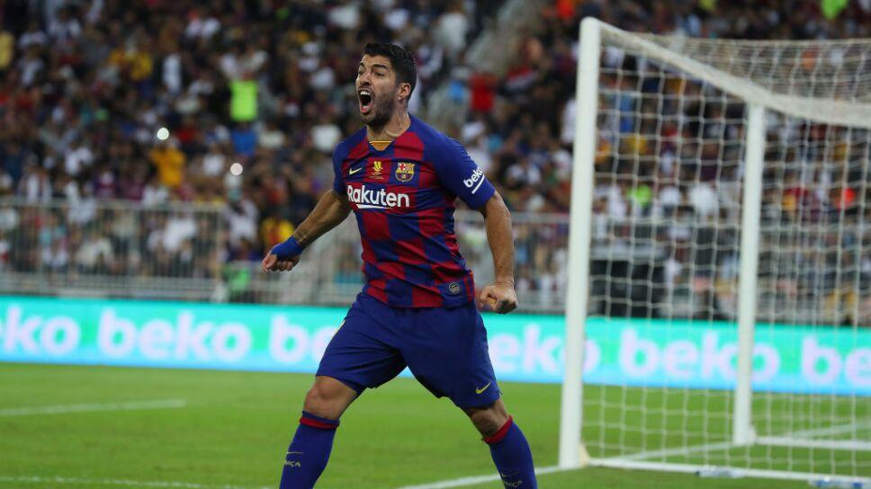 Luis Suárez jugará con el Barcelona después del coronavirus